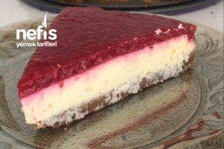 Püf Noktalarıyla Frambuazlı Cheesecake (Tam Bir Yaz Tatlısı) Tarifi