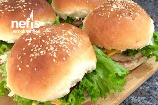 Tavuk Burger Hamburger Tarifi
