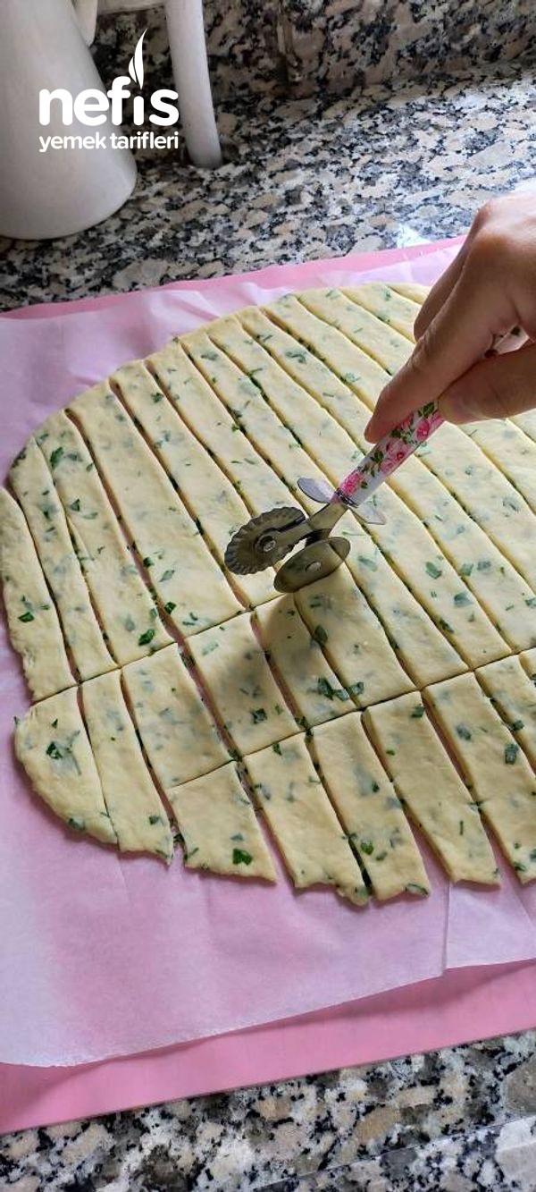 Yağ Çekmeyen Peynirli Hamur Kızartması