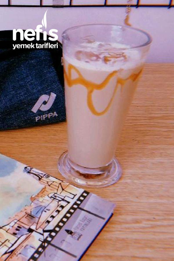 5 Dakikada Karamelli Buzlu Kahve