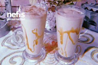 5 Dakikada Karamelli Buzlu Kahve Tarifi