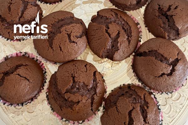 Efsane Kabaran Çikolatalı Muffin