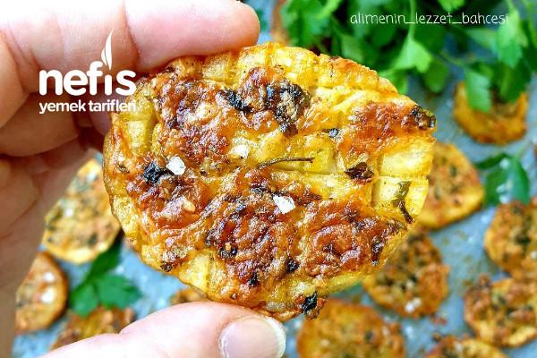 Fırında Baharatlı Çıtır Patates (Videolu)