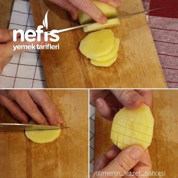 Fırında Baharatlı Çıtır Patates