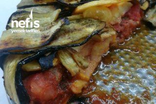Fırında Patlıcan Kapama Tarifi