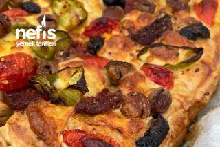 Kahvaltıya Milföy Pizza Tarifi