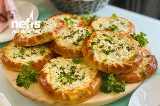 Peynirli Yuvarlak Pide Tarifi