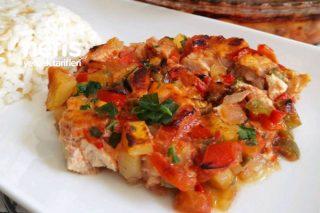 Tavuk Göğüslü Arap Tavası Tarifi