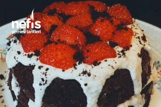 Unsuz Yağsız Rafine Şekersiz Pasta (Diyet) Tarifi