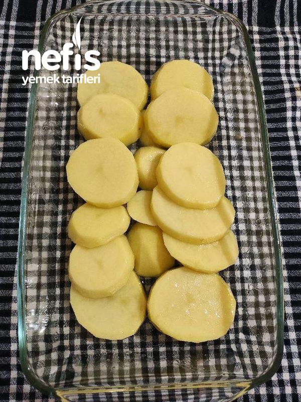 Birde Böyle Deneyin Tavuklu Patates Oturtma (Kızartmadan)