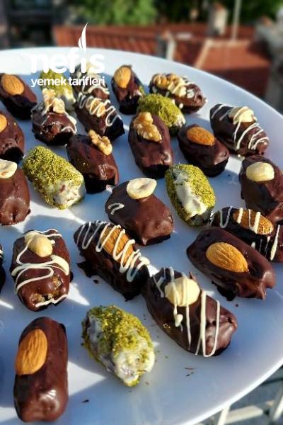 Çikolatalı Hurma Topları-9529532-150602