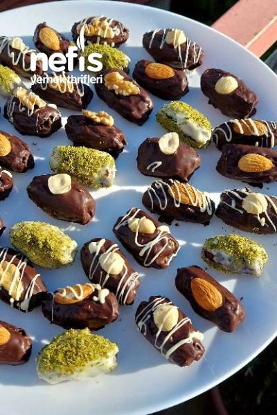 Çikolatalı Hurma Topları-9529532-150607