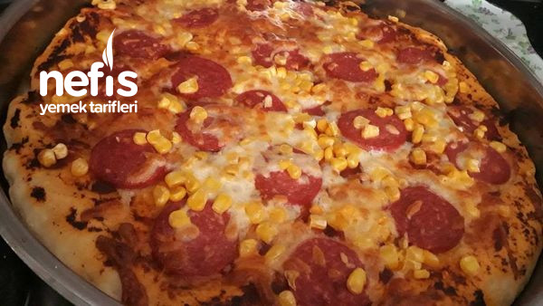 Çocukların Seveceği Bir Tarif Pizza