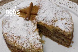 Elmalı Pasta (Sütsüz Yumurtasız) Tarifi