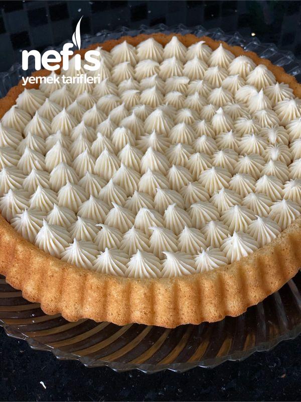 Pasta Görünümlü Kremalı Tart Kek
