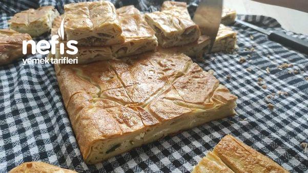 Su Böreği Tarifi (Kıymalı Ve Peynirli)