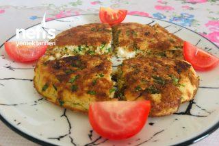 Yulaflı Omlet Börek (Kahvaltılık Fit Tarif, Çayın Yanına Fit Tarif) Tarifi