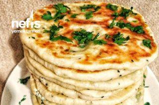 3 Peynirli Çörekotlu Bazlama Tarifi