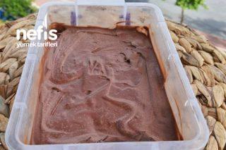 Sadece 1 Kez Karıştırmayla Kakaolu Dondurma Yapımı (Videolu) Tarifi