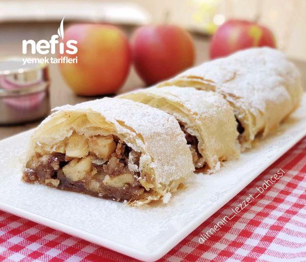 Tarçın Ve Elmalı Tatlı (Yiyen Bu Lezzete Aşık Oluyor) (Apfel Strudel Avusturya)