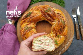 Yumuşacık Dereotu Ve Salamlı Örgü Ekmek Tarifi