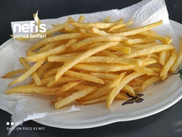 Çıtır Çıtır Patates Kızartması (Mc Donalds Patatesini Aramayacaksınız)
