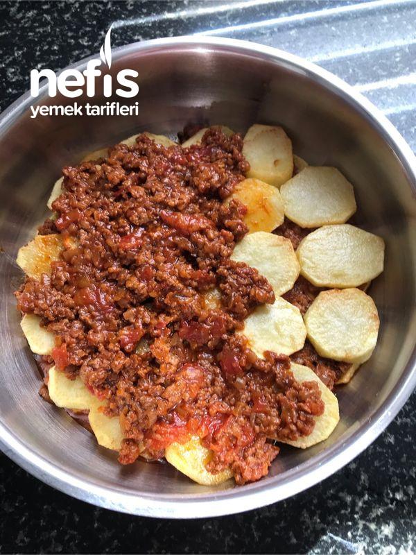 Çok Lezzetli Patates Oturtma Yemeği