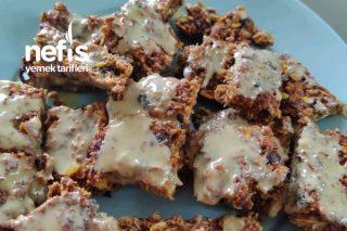 Fit Kahvaltı Protein Bar Tarifi