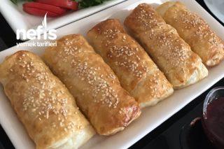 Kahvaltıya Peynirli Çıtır Börek Tarifi