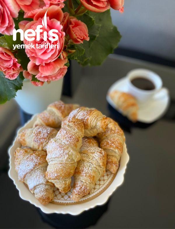 Milföy ile Çikolatalı Kruvasan (Croissant)