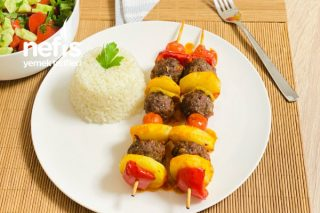 Fırında Şiş Köfte Patates (Lokum Gibi Bir Ana Yemek) Tarifi