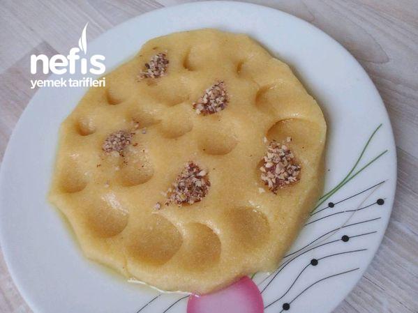Peynirli Tadında Sütlü Kavurmadan Adıyaman Helva