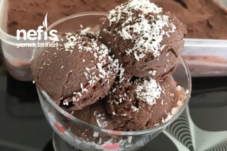 Kakaolu Dondurma (Çok Pratik) Tarifi