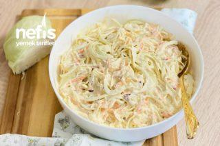 KFC Beyaz Lahana Salatası (Coleslaw Salatası) Tarifi