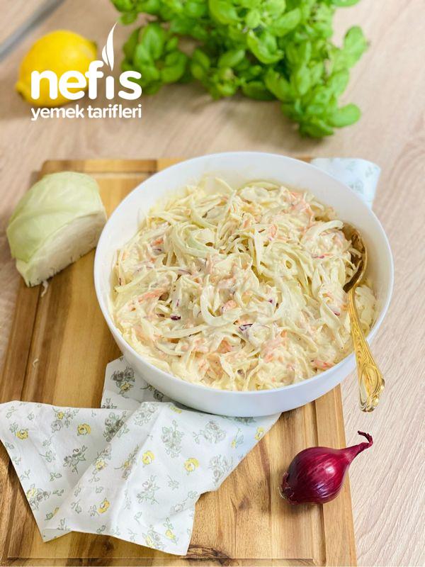 KFC Beyaz Lahana Salatası (Coleslaw Salatası)