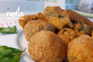 Patatesli Bulgurlu Nefis Pazılı Kroket Tarifi