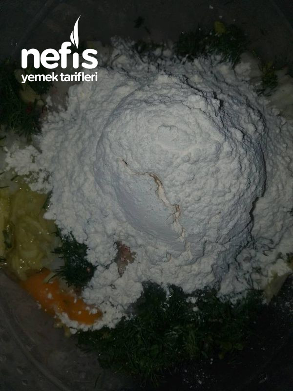 Tavada Pişirme Mücver