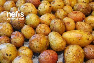 Fırında Çıtır Çıtır Kabuklu Taze Patates Tarifi