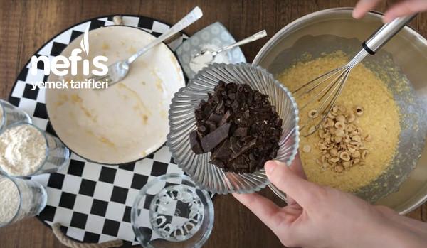Rafine Şekersiz, Fındıklı, Çikolatalı, Banana Bread Tarifi