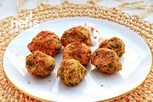 Az Yağlı Diyet Falafel Tarifi