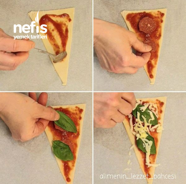 Milföyden Pratik Çubuklu Pizza (Videolu)