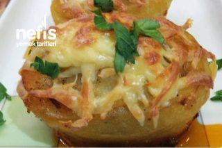 Patates Çanakları (Kıymalı Kaşarlı) Tarifi