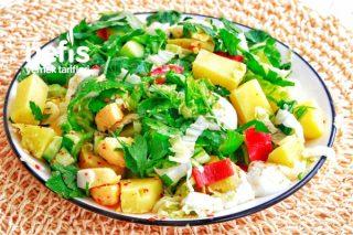 Patatesli Yumurtalı Salata Tarifi
