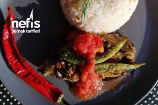 Türk Mutfağının Baştacı Kıymalı Karnı Yarık Tarifi