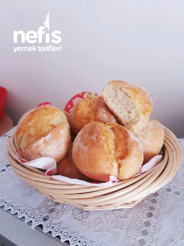 Uçaklarda İkram Edilen O Nefis Fransız Ekmek Tarifi (French Roll)