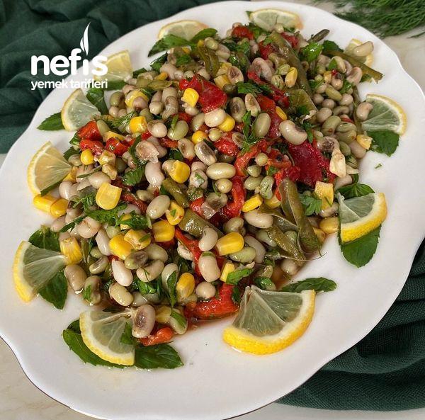 Yemeye Doyum Olmaz Taze Börülce Salatası