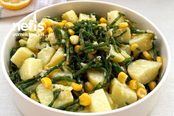 Patatesli Börülce Salatası