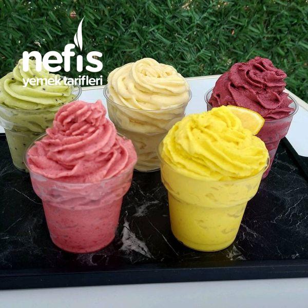 Rengarenk Meyveli Dondurmalar
