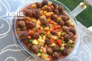 Sebzeli Köfte Kebabı Tarifi