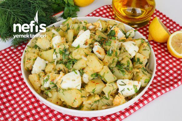Yumurtalı Patates Salatası-914-130621
